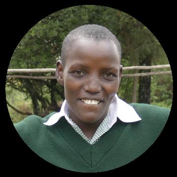 Edith, Kenya. Asante student