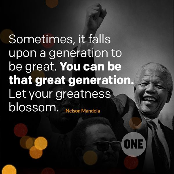 MANDELA DAY: 67 MINUTES FOR 67 YEARS