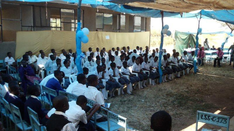 A day of firsts for CEO, Erna Grasz as she attends mass in Swahili, a graduation ceremony and a harambee (Tanzania style)