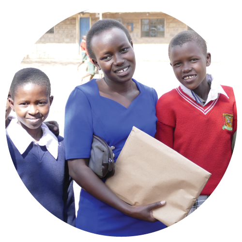 Carolyne, Kenya. Asante girl student