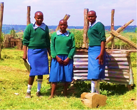Girls Start A Maize Farm, Kenya