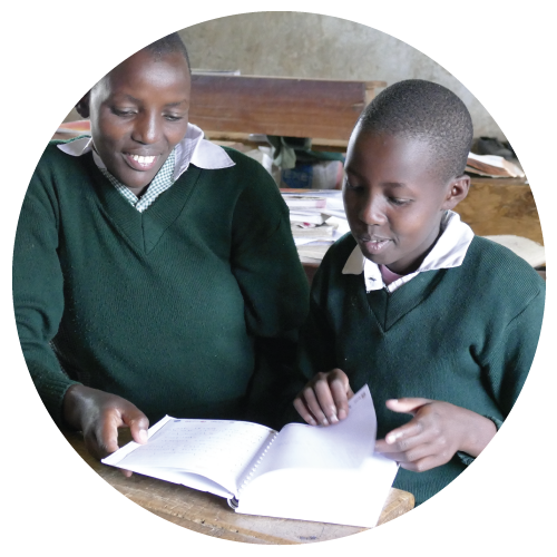 Two Asante Africa students