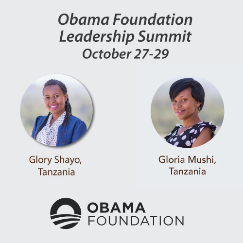Two African Women Changemakers contribute to the Global Conversation at Obama Foundation Summit