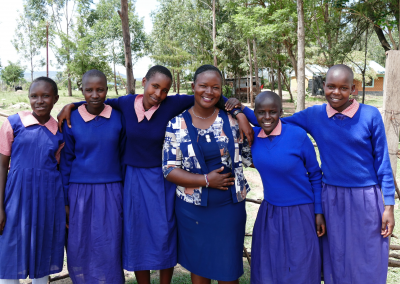 Damaris Empowers Female Students, Kenya
