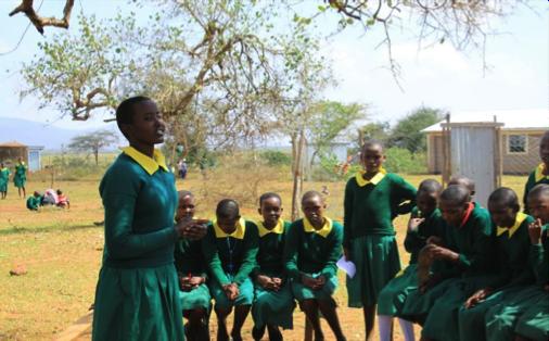 Married, and Back in School, Kenya