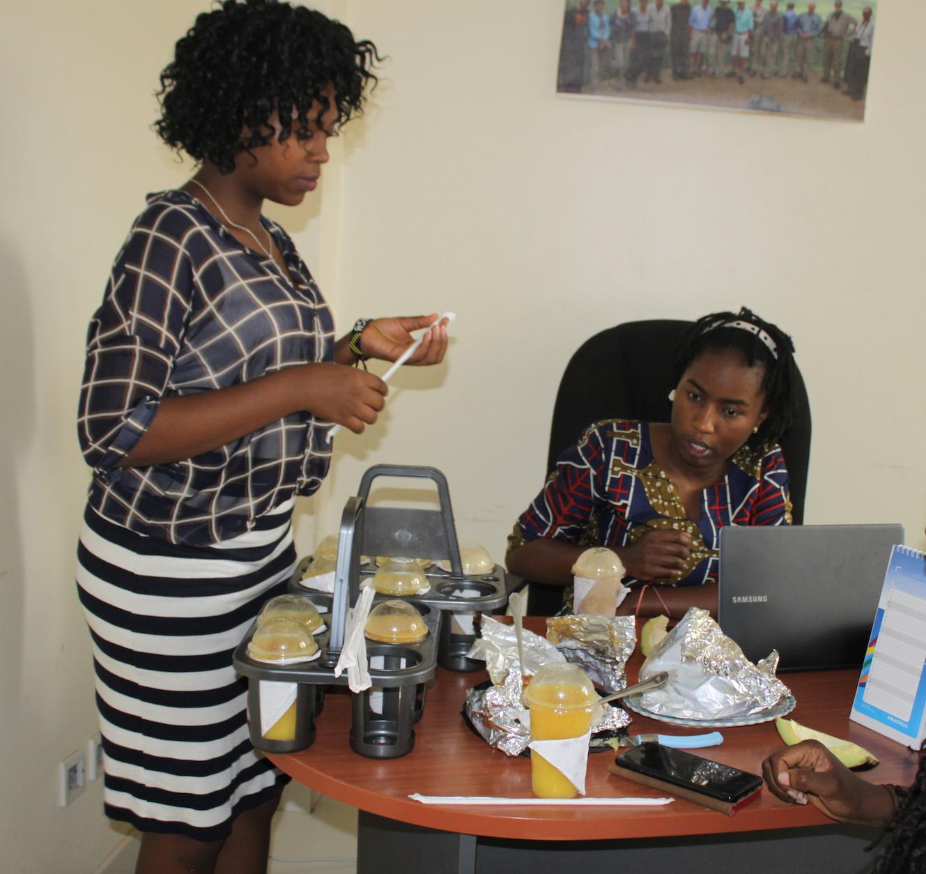 Evaline Foya - small business startup, Tanzania