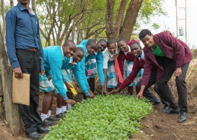 Pulling Together & Building Opportunities for Girls, Kenya