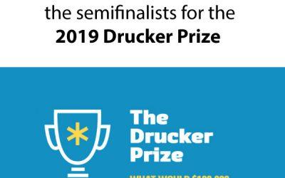 Drucker Institute Names 2019 Drucker Prize Semifinalists