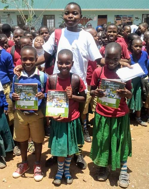 Form-2 African student transforming lives of pupils