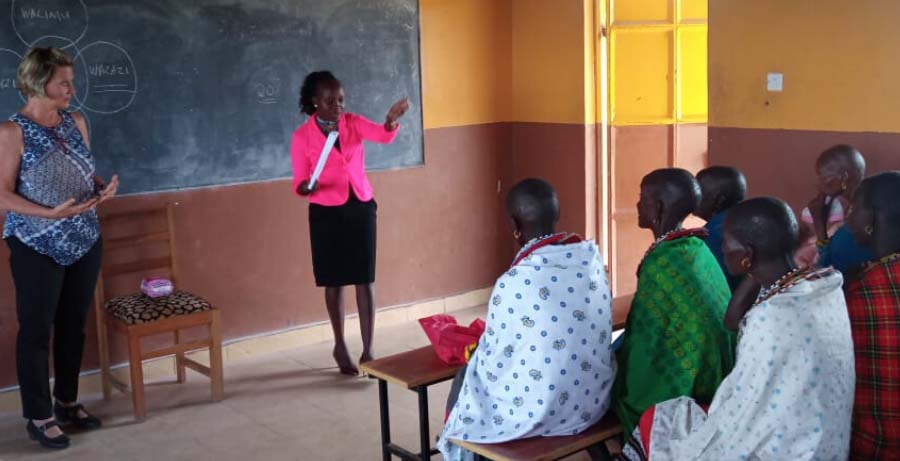 Empowering Women to Find Their Voices in a Male-Dominated Society