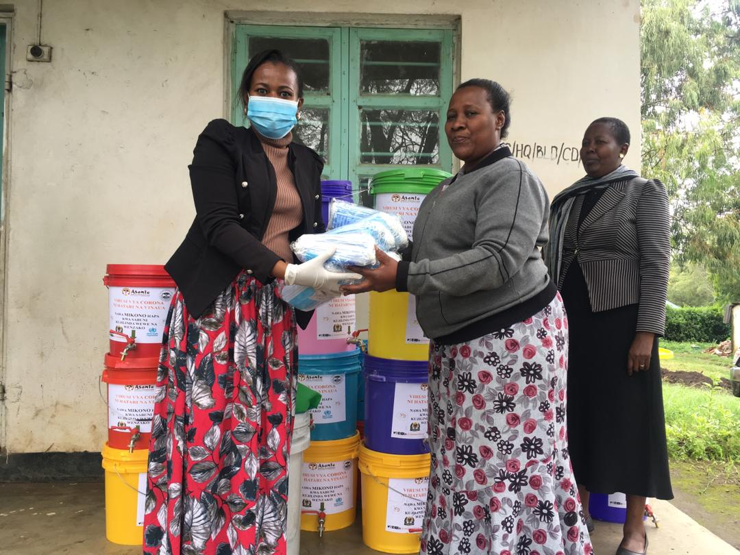 Asante Africa Youth Distributing Family Essentials Package