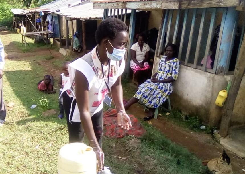 Volunteering to Create Awareness, Kenya