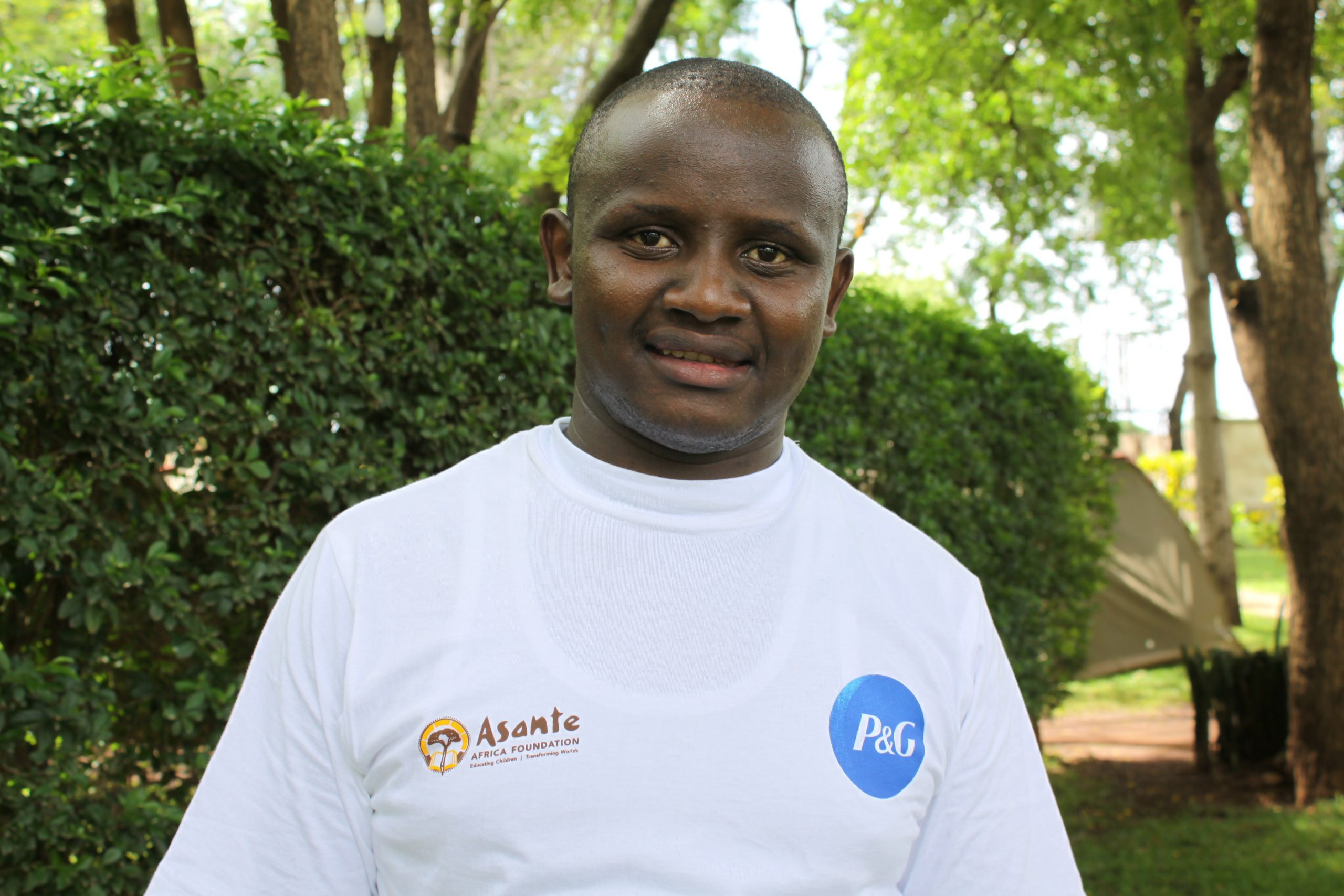 Simon Kinyanjui , Girls' Advancement Program Assistant, Kenya