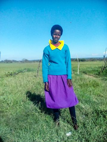 Education Builds Pamala's Confidence to Shine, Kenya