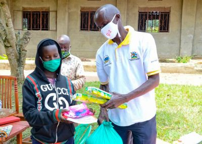 Providing Essential Supplies to Communities in Uganda