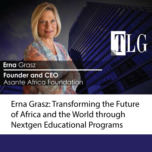 "CEO, Erna Grasz, Featured in ""The Leaders Globe"""