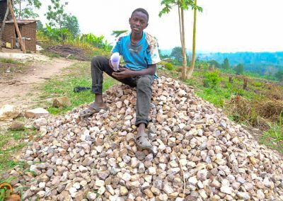 Selling Stones to Lay the Foundation for a Future