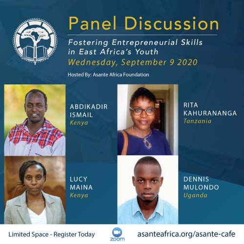 Q&A – Fostering Entrepreneurial Skills in East Africa's Youth