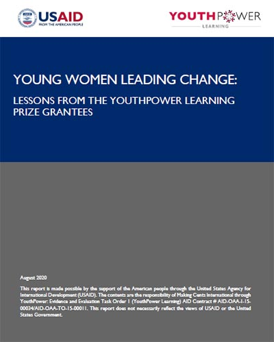 young women leading change