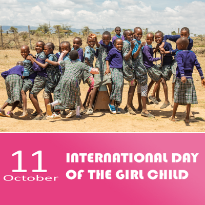 Intl Day of the Girl Child 2020: My Voice, our Equal Future