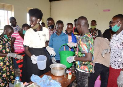 Skills training, hygiene, and sustainability in Uganda