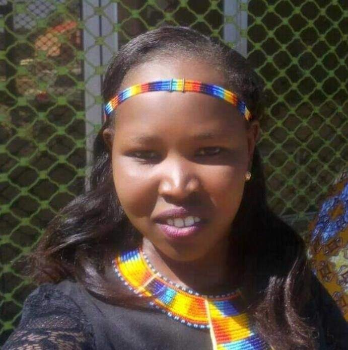Naomi from Kenya education against female circumcision