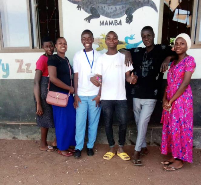Sharing Inspiration and knowledge, Tanzania