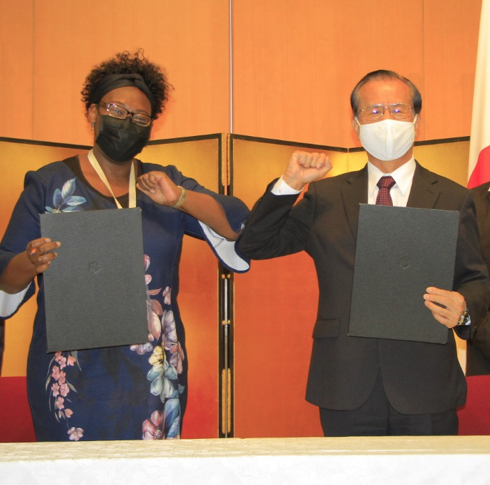 new partnership with the Embassy of Japan in Kenya