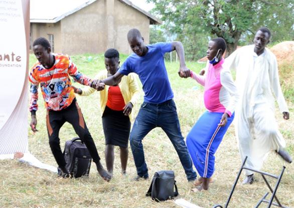 peope in uganda