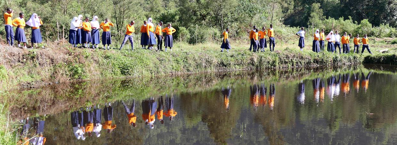 Student Fish Farm Project in Tanzania