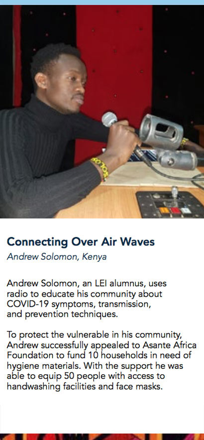 connecting over air waves