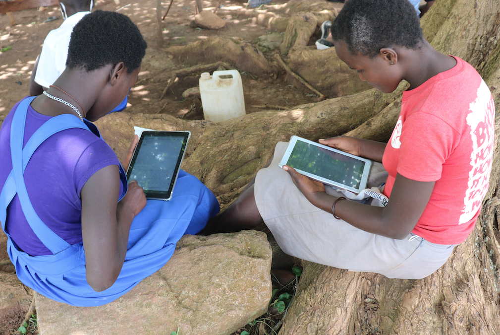 Experiencing Digital Learning for the First Time, Uganda
