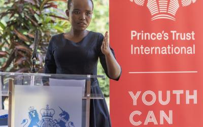 Young Kenyan businesswoman receives Prince's Trust Global Award